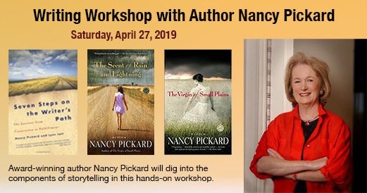 PictureOne Day Author Workshop with Nancy Pickard